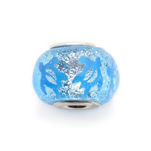 Glass Bead | Petro Turtle - Aqua