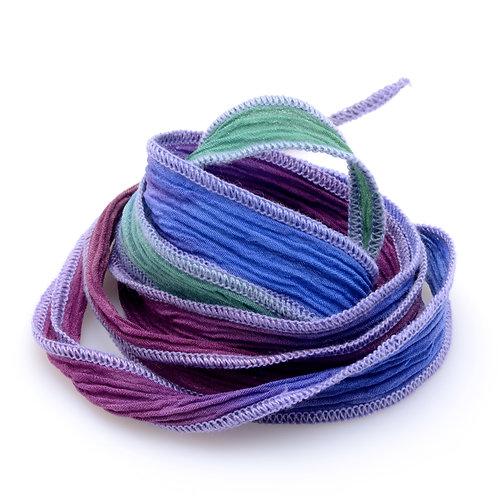 Silk wrap | Ocean Rainbow