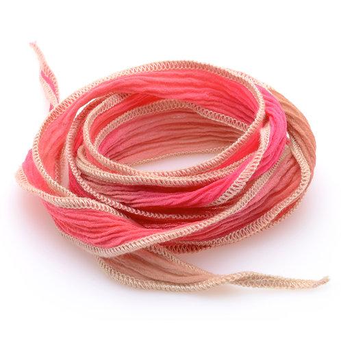 Silk wrap | Peach Fade