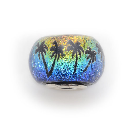 Glass Bead | Palms - Sunset