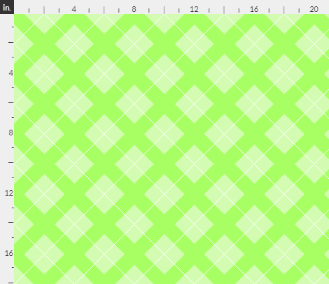 argyle in pastel green