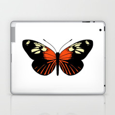 tiger wing butterfly Laptop & iPad Skin