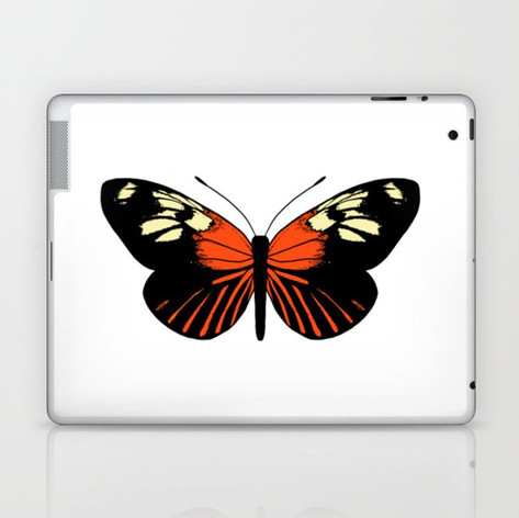 tiger wing butterfly Laptop & iPad Skin