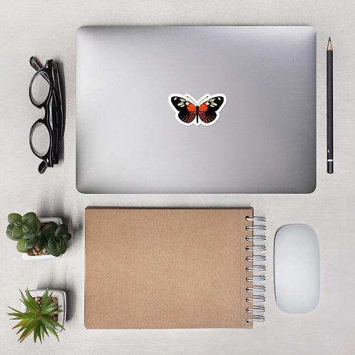 common tiger butterfly - Bubble-free stickers