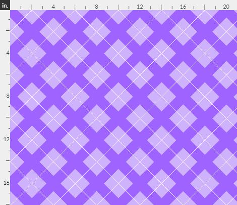 argyle in lavender