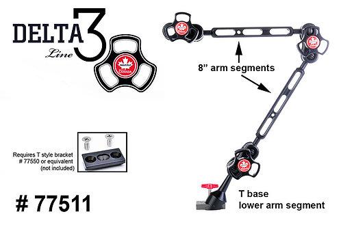 """Delta 3 Dual 8"""" Arm Set with Detachable Base"""