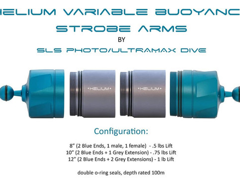 Helium VBC Strobe Arms are here!