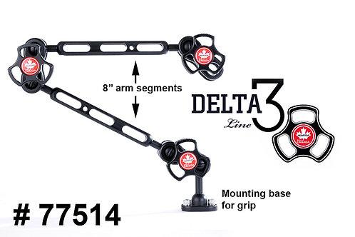 """Delta 3 Dual 8"""" Arm Set"""