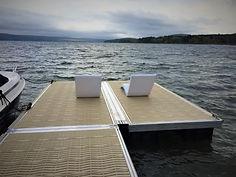 Location quai flottant sur poteaux