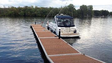 Quai flottant - Floating dock - Quai Sol