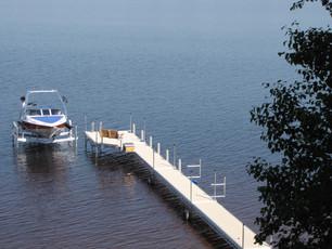 Quai sur poteaux dock on posts