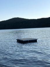Plateforme de baignade swimming platefor