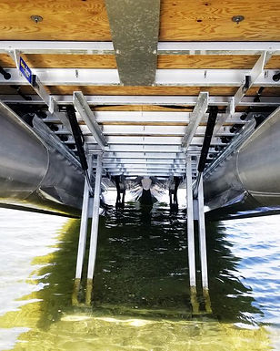 Sea-legs pontoon Quai Solutions pattes é