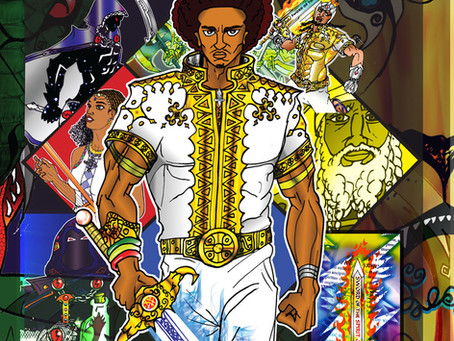 COMING SOON! The Artwork of MEKONNEN The Warrior of Light