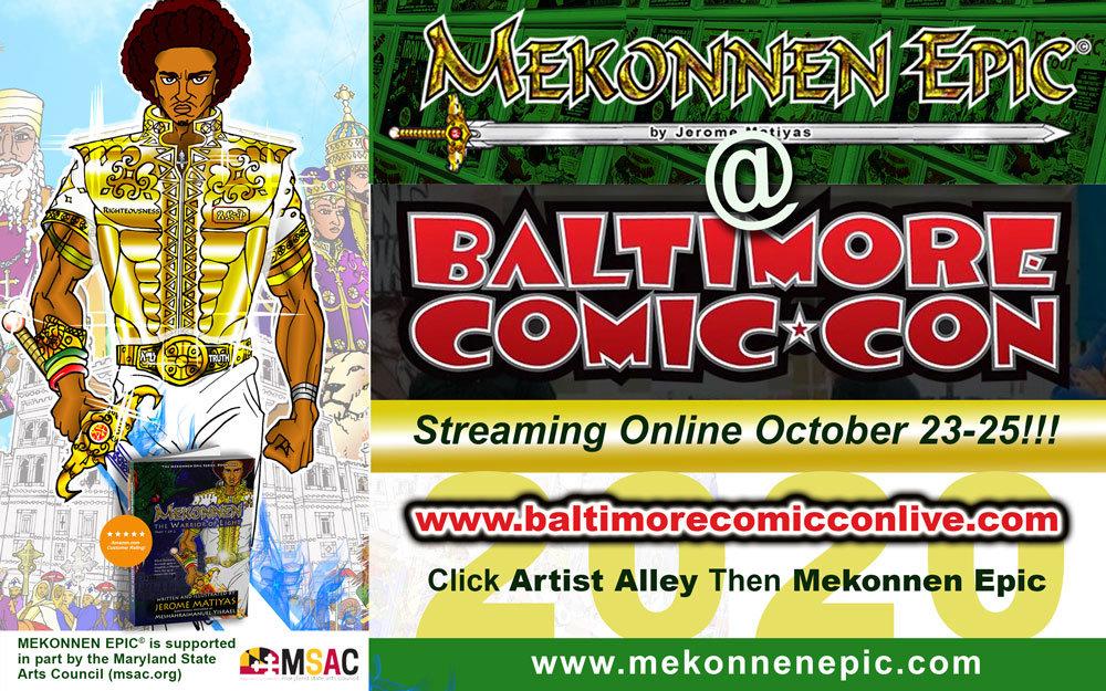 Baltimore Comic-Con 2020 (Virtual)