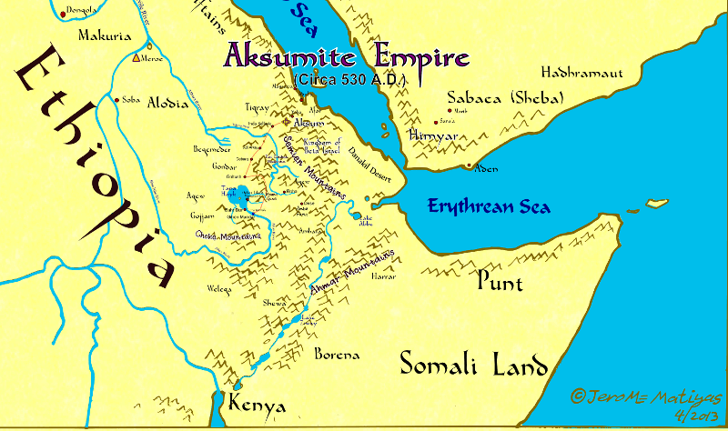 The Aksumite Empire, 530 A.D. (2013)