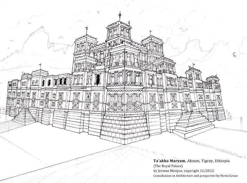 Taakha Maryam Royal Palace