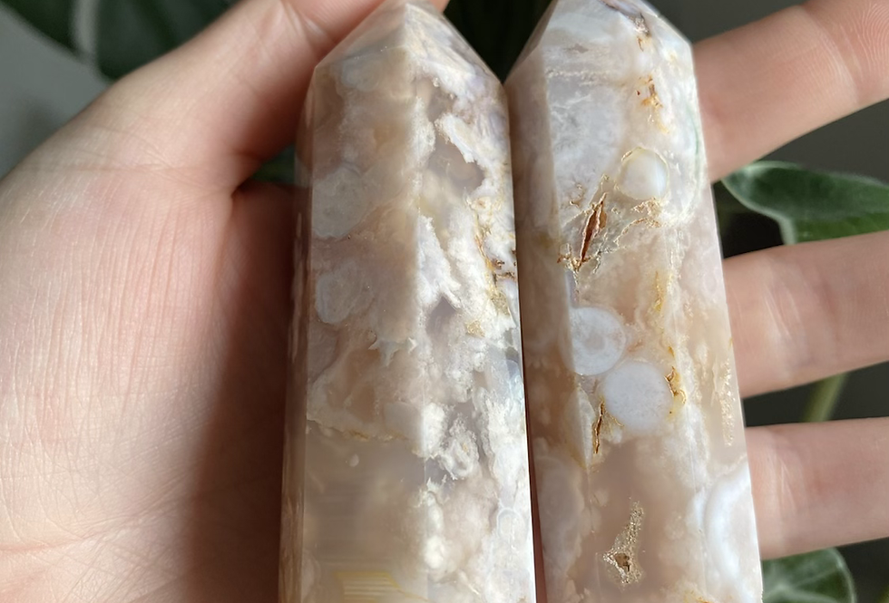 Flower Agate Tower