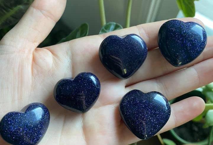 Blue Sandstone Heart
