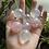 Thumbnail: Aura Clear Quartz and Aura Rose Quartz