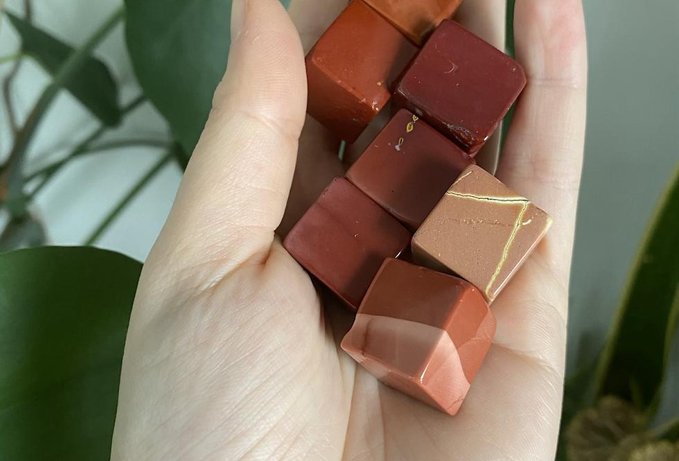 Mookaite  Cube