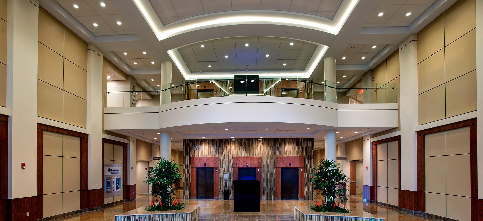 Medical Office Building Atrium Lighting