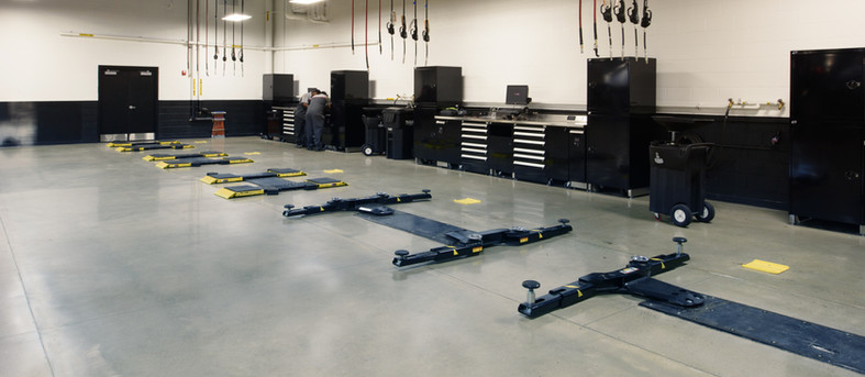 Automotive repair garage utility services