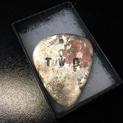 TWD special guitar pick pendant