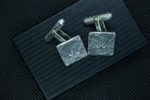 Personalized Silver Cufflinks