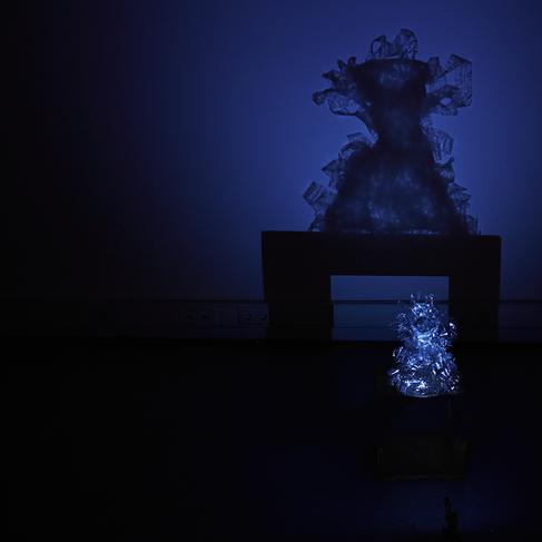 o.T. , Installation (Projektion) / 2015