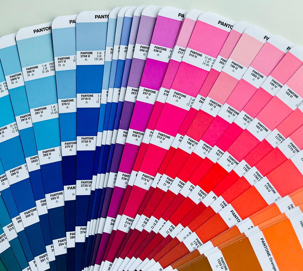 Farben für eine Website