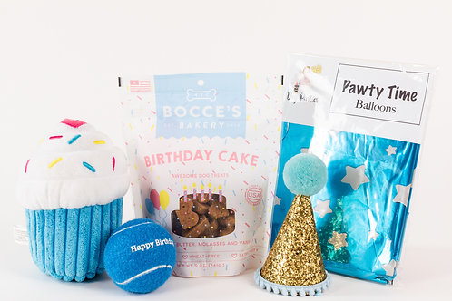 Deluxe Boy Barkday Party Box
