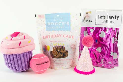 Deluxe Girl Barkday Party Box
