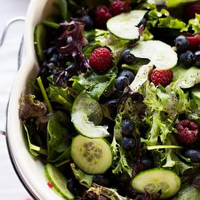 Field Greens Salad - Party Food Essentials