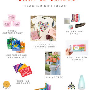 Perfect Teacher Gift Ideas  – What to get your child's teacher.