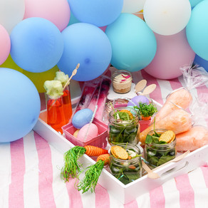 How to set up a Backyard Easter Picnic