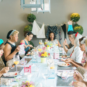 1950's Housewife Brunch Bridal Shower
