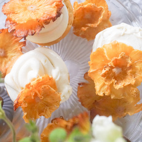 Pineapple Champagne Cupcakes