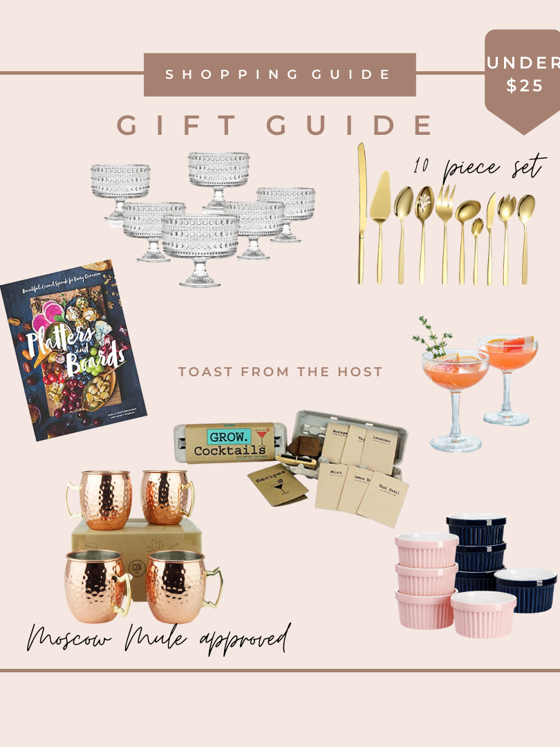 Gift Guide - Toast from the Host