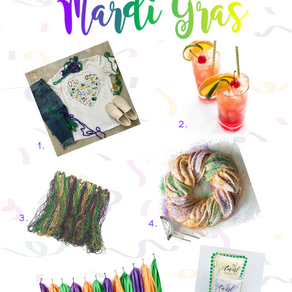 6 Must Haves to Host a Mardi Gras Party