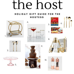 Hostess Gift Guide 2017