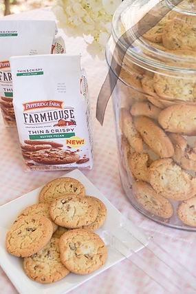 Pepperidge Farm Butter Pecan Cookies + T