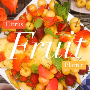 Citrus Berry Fruit Platter
