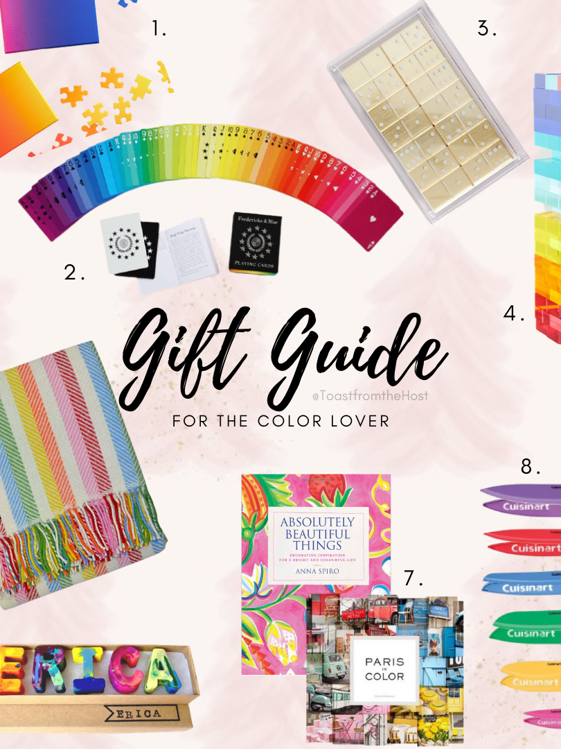 Gift Guide for the Color Lover