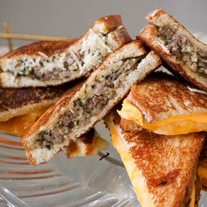 Fall Favorite: Grilled Cheese Stacks