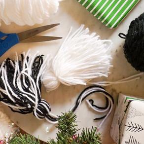 Neutral Yarn Tassel DIY