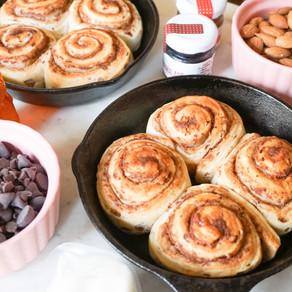 Cinnamon Roll Breakfast Station