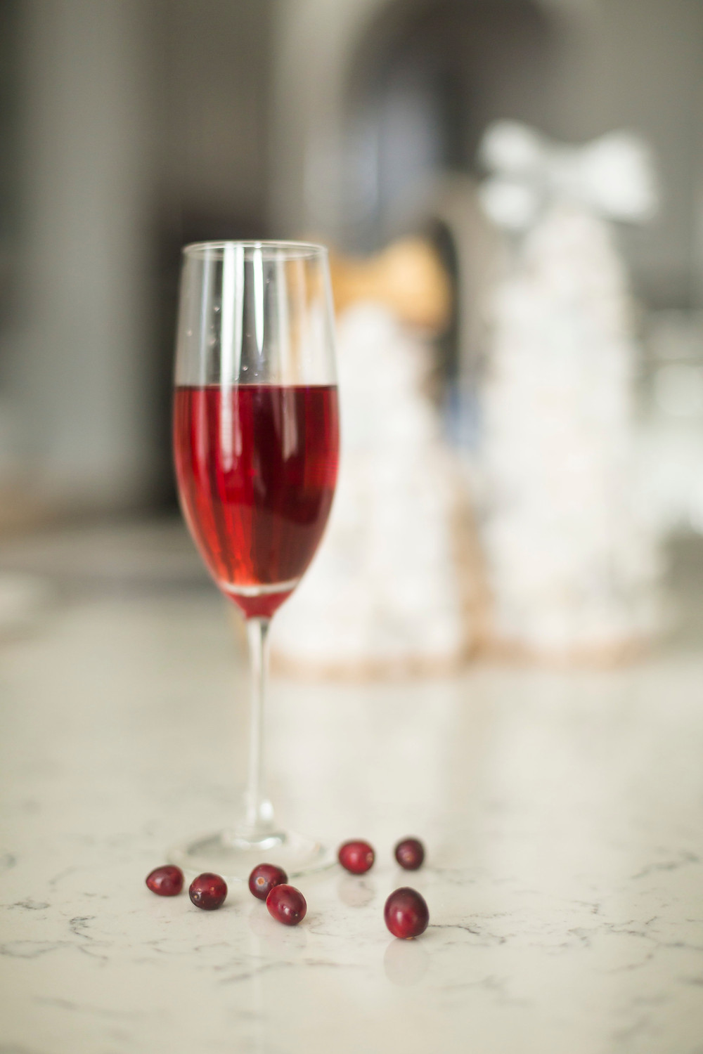 The Poinsettia Christmas Drink