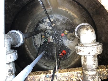 原水ポンプ槽|油脂トラブルの解消