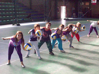 Junior volleyball sessions